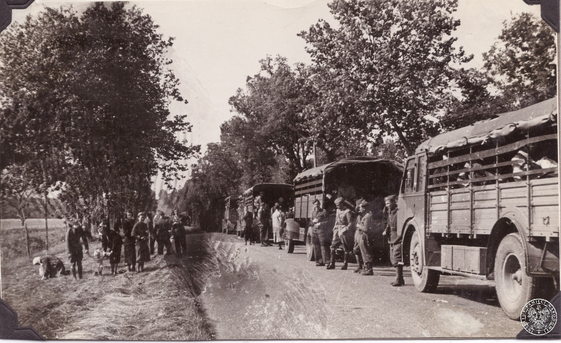 Wielka ewakuacja 1939-1940 - Polskie Siły Zbrojne poza krajem - Przystanek  Historia