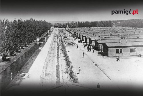 KL Dachau camp after liberation (AIPN)
