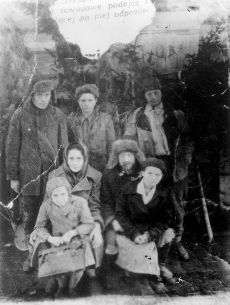 Babiarz family deported from the Borderlands in 1940 Photo: Fundacja Ośrodka KARTA