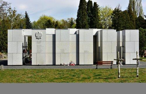 Panteon –Mauzoleum Ofiar Reżimu Komunistycznego. Miejsce spoczynku doczesnych szczątków Bronisława Chajęckiego