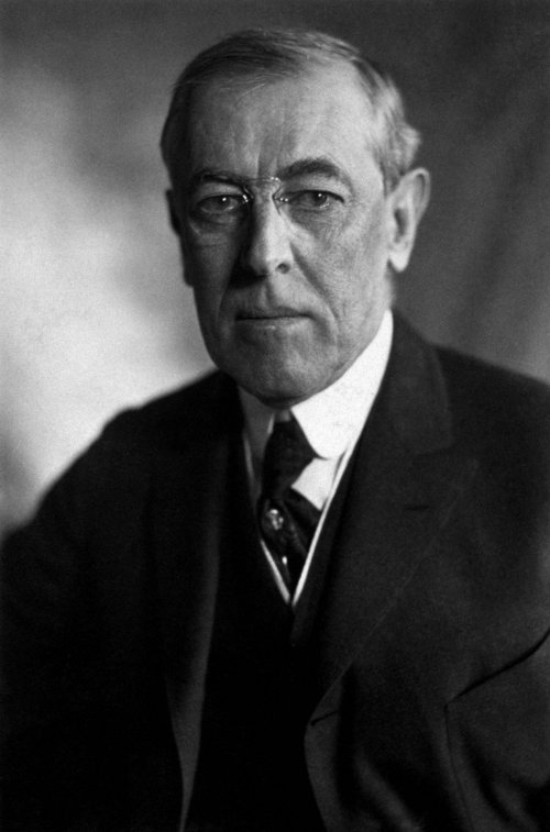 Wodrow Wilson – the 28th president of the USA between 1913-1921