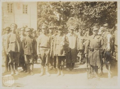 Russian POWs, Belarus, 1919. Unknown author. From the collections of the Museum of the History of Photography in Cracow