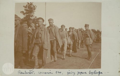 A column of Russian prisoners, 1920. Author: photographer Jan Zimowski. From the collections of the Museum of the History of Photography in Cracow