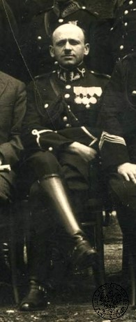 Deputy inspector Anatoliusz Elzesser-Niedzielski, Chief of the State Police in Łódź between 1926-1939. Photo from the collections of the Institute of National Remembrance