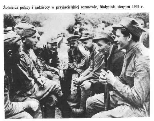 Białystok, sierpień 1944 r. (fot zksiążki: Władysław Góra, Polska Rzeczpospolita Ludowa 1944-1974, Warszawa 1976 r.)