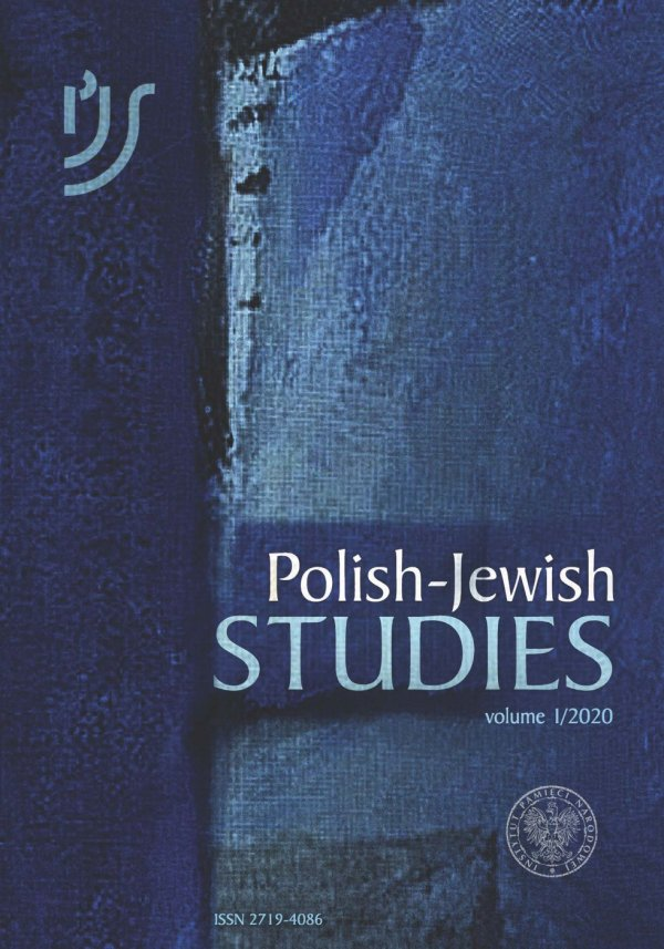 """Polish-Jewish Studies"", tom 1/2020"