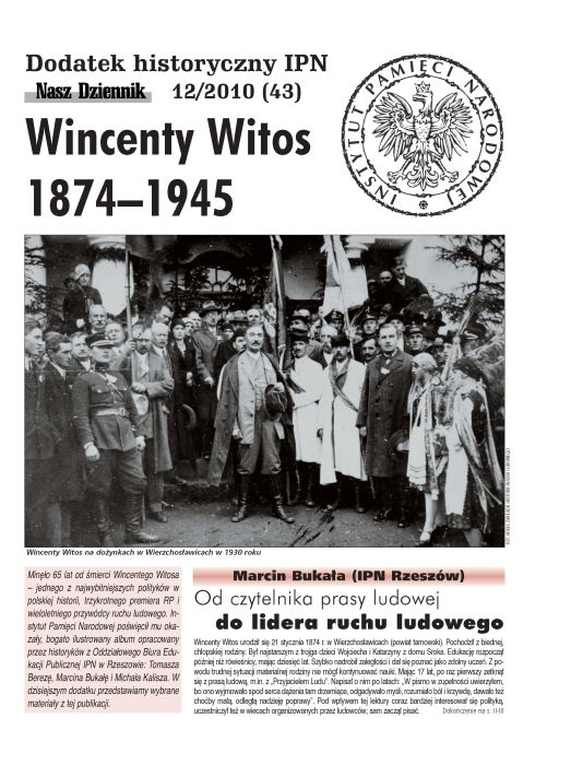 Wincenty Witos 1874–1945