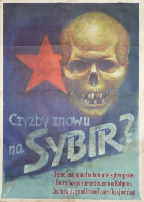 Niemiecki plakat propagandowy, 1943